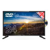 Cello C2420FS 24` HD Led Digital TV With Built In DVD Player & Satellite Tuner