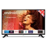 """Cello C3220G 32"""" Android TV with Google Assistant - Made in UK"""
