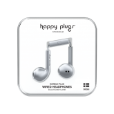 Happy Plugs 7824 Earbud With Mic And Remote Space Grey