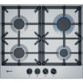 Neff T26DS49N0 4 Burner Cast Iron Pan Support Gas Hob