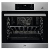 Aeg BES255011M Stainless Steel Built In Electric Single Oven