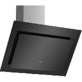 Bosch DWK87CM60B Angled Glass Wall Mounted Cooker Hood