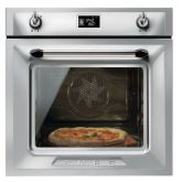 Smeg SFP6925XPZE1 60cm Victoria Stainless Steel Multifunction Pyrolytic Single Oven