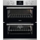 Zanussi ZOF35802XK built under double oven Multifunction built under double oven with 7 functions in the main oven and 5 fu