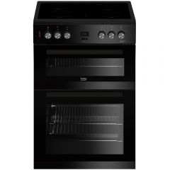 Beko EDC633K Double Oven Electric Cooker