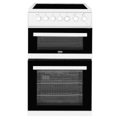 Beko EDVC503W 50cm Ceramic Top Double Oven