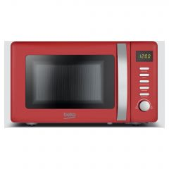 Beko MOC20200R 20L 800W Retro Compact Red Microwave