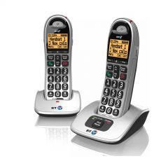 BT 4000TWIN Twin cordless telephone with nuisance call control