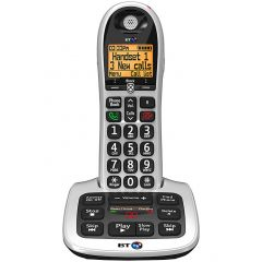 Bt 4600SINGLE Big Button Cordless With Answer Machine And Call Guard
