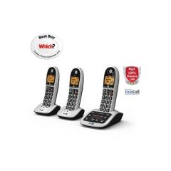 Bt 4600TRIPLE Big Button Cordless With Call Guard and Answer phone