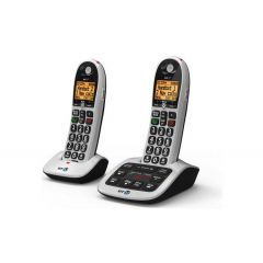 Bt 4600TWIN Digital Cordless Big Button Phone With CAll guard and an Answer Machine