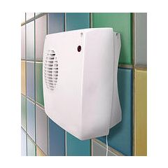 Eterna DFH2KW Downflow Bathroom Fan Heater
