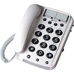Geemarc DALLAS10 Big Button Corded Telephone