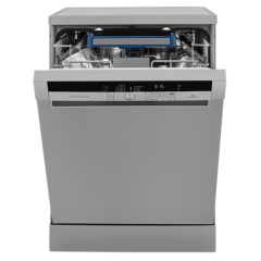 Grundig GNF41822X 13 Place Setting Full Size Dishwasher in stainless steel