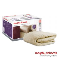 Morphy Richards 620003 King Size Fitted Fleece Dual Control