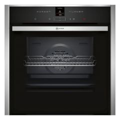 Neff B57CR23N0B Built in slide and hide pyrolytic 71 litre Oven