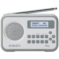 Roberts PLAYGY DAB Radio With Built-In Battery Charger