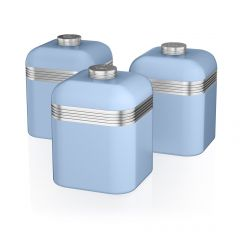 Swan SWKA1020BLN Retro Set of 3 Canisters