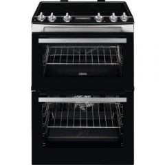 Zanussi ZCV66078XA Cooker Electric Double Oven