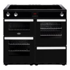 Belling 444444091 100cm Stainless Steel Cookcentre Electric Range Cooker