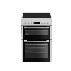 Blomberg HKN65W 60cm Double Oven Electric Cooker with Ceramic Hob