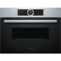 Bosch CMG633BS1B Compact Built In Combination Microwave