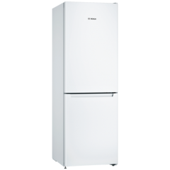 Bosch KGN33NWEAG Frost Free Fridge Freezer - White - A++ Energy Rated