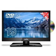 Cello C1920FS 19` HD Led Digital TV With Built In DVD Player And Satellite Tuner