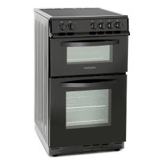 Montpellier MDC500FK 50cm Ceramic Cooker with Double Oven