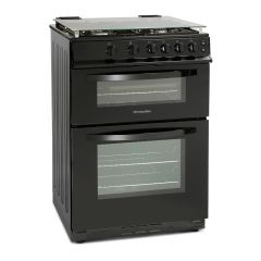 Montpellier MDG600LK 60Cm Gas Cooker lidded and Double Oven