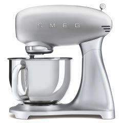 Smeg SMF02SVUK 50`s Style Stand Mixer Silver