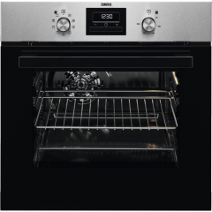 Zanussi ZZB35901XA 60 litre Single oven Multi Function, Rotary Controls, Fully Programmable Timer